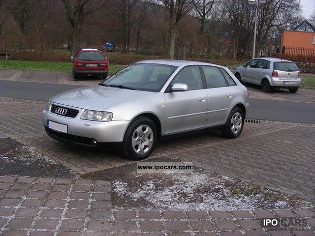 2001 audi a3 1 6 ambiente full service history car photo and specs. Black Bedroom Furniture Sets. Home Design Ideas