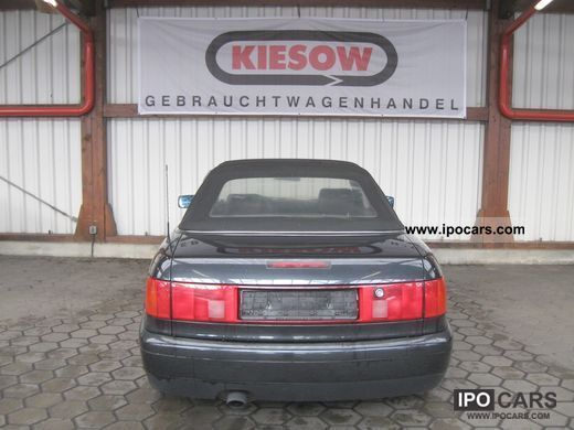 1998 audi 80 cabriolet 1 8 with leather and electric hood. Black Bedroom Furniture Sets. Home Design Ideas