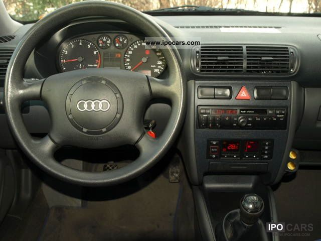 1999 Audi A3 Attraction 1 6 Car Photo And Specs
