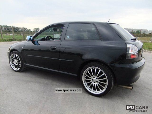 2002 audi a3 1 8 t ambition car photo and specs. Black Bedroom Furniture Sets. Home Design Ideas