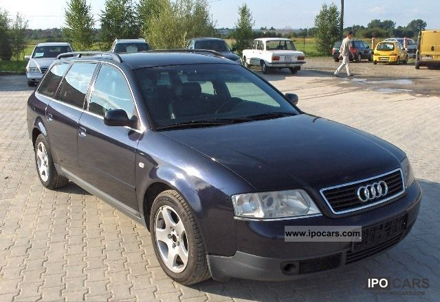 1998 Audi  A6 OPŁACONY Estate Car Used vehicle photo