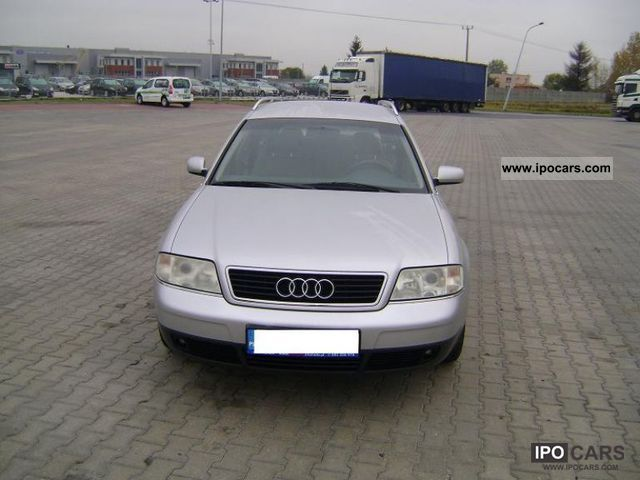 1999 Audi  A6 1.8 BENZYNA! ALUSY! Estate Car Used vehicle photo
