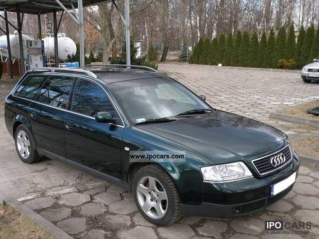 1999 Audi  A6 * GAZ * 2.4 * BENZYNA Estate Car Used vehicle photo