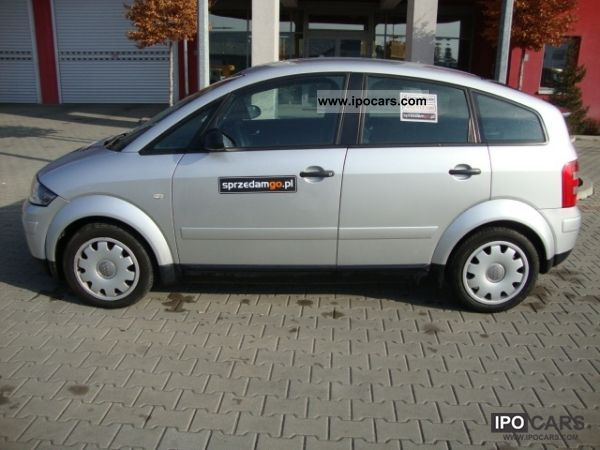 2001 audi a2 1 4 tdi sprzedamgo car photo and specs. Black Bedroom Furniture Sets. Home Design Ideas