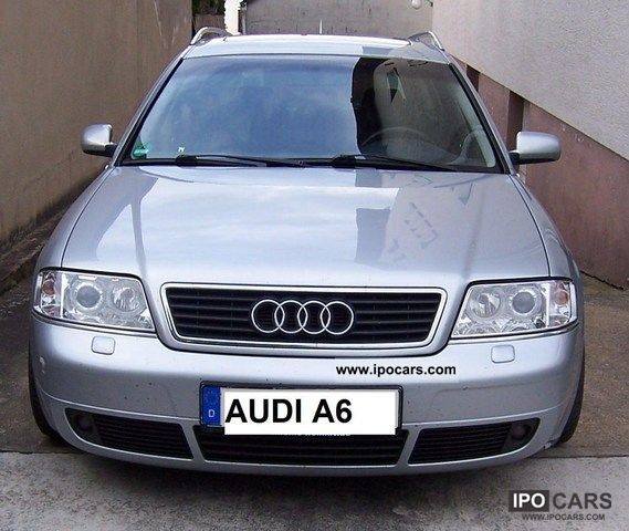 1999 audi a6 avant 2 5 v6 tdi euro 4 green sticker car photo and specs. Black Bedroom Furniture Sets. Home Design Ideas