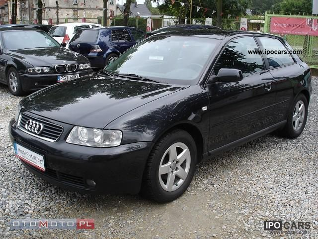 2000 audi a3 1 6 16v air z niemiec car photo and specs. Black Bedroom Furniture Sets. Home Design Ideas