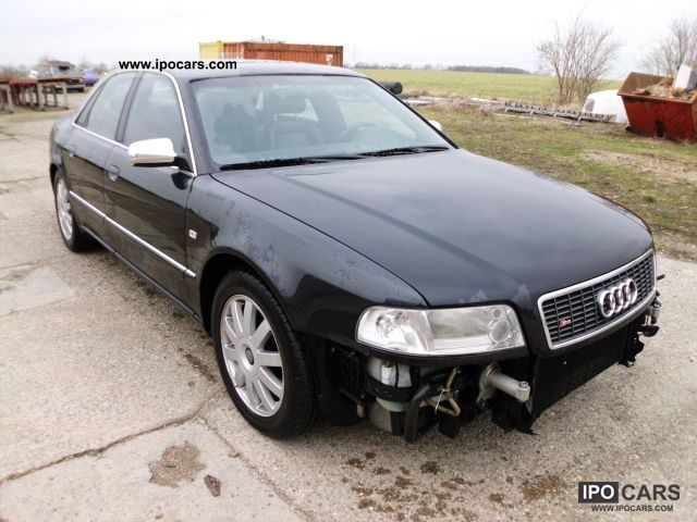 2001 Audi  S8 4.2 quattro OFFER OF THE DAY Limousine Used vehicle photo