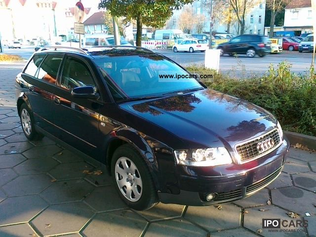 2003 audi a4 avant 1 9 tdi 96 kw air tronic euro 3. Black Bedroom Furniture Sets. Home Design Ideas