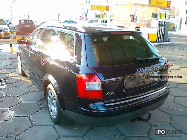 2003 audi a4 avant 1 9 tdi 96 kw air tronic euro 3 bj 03 car photo and specs. Black Bedroom Furniture Sets. Home Design Ideas