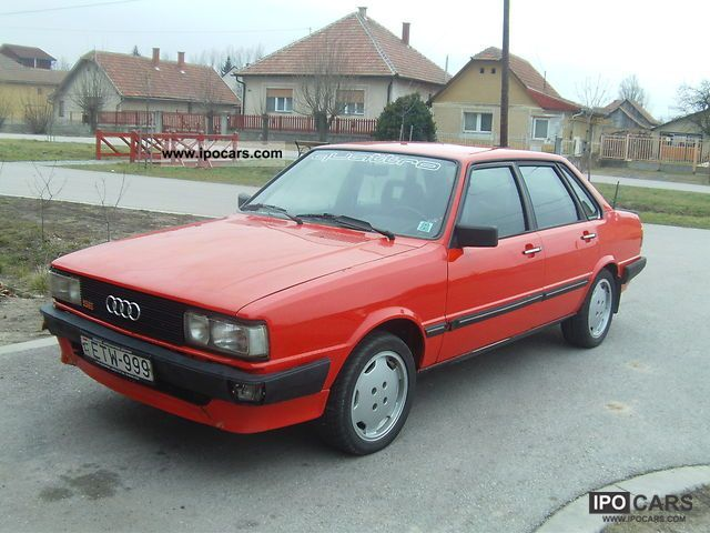 1983 audi 80 quattro 2 2 car photo and specs. Black Bedroom Furniture Sets. Home Design Ideas