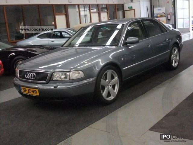 1998 Audi A8 42 V8 Quattro Tiptronic4 Exclusive Distribut Car