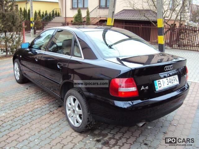 2001 audi lpg g3 a4 sedan car photo and specs. Black Bedroom Furniture Sets. Home Design Ideas