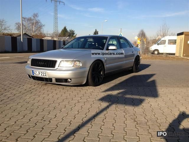 2000 Audi A8 4.2 quattro long version - Car Photo and Specs