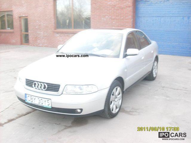 1999 Audi  A4 + Gaz Benzyna Limousine Used vehicle photo