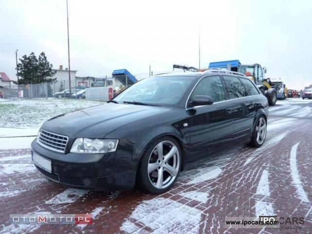 2002 Audi  A4 AUDI A4 COMBI 163 KM Estate Car Used vehicle photo