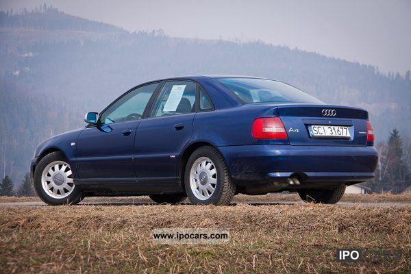 2000 Audi A4 B5 - Car Photo and Specs
