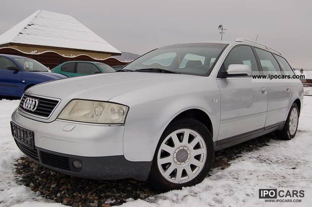 2000 Audi  A6 - 2.8 V6 193km vision, aluminum, tiptronic Estate Car Used vehicle photo
