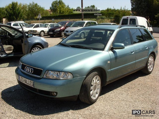 2000 audi a4 avant 2 5 v6 tdi pack a car photo and specs. Black Bedroom Furniture Sets. Home Design Ideas