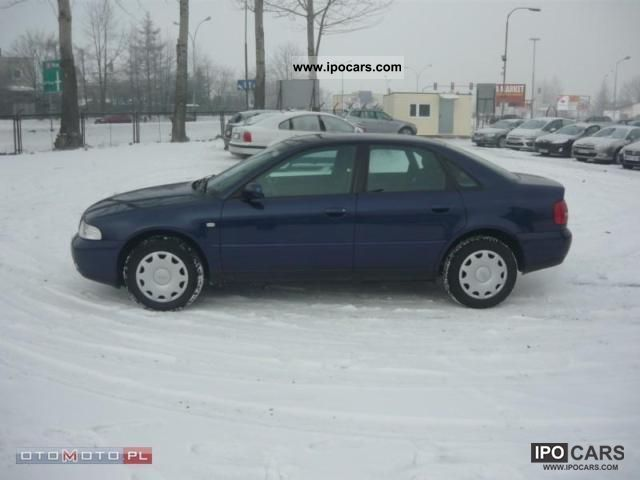 2000 Audi  A4 Climatronic, Podg siedzenia Limousine Used vehicle photo
