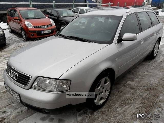 2000 Audi  A6 IDEALNY STAN! DIESEL! Estate Car Used vehicle photo