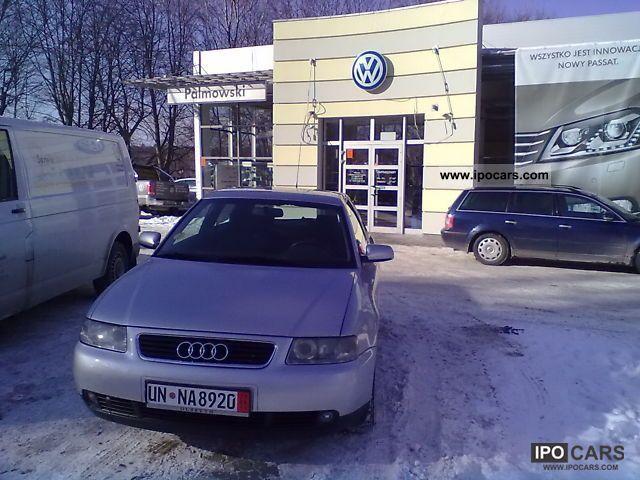 2001 Audi  LIFTING z Niemiec 1.9 TDI, 110 KM, 154000km Limousine Used vehicle photo