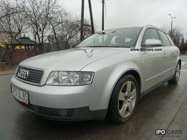 2002 Audi  A4 * NAVI * AUTOMATIC * SZYBER * ZAREJESTROWANA * Estate Car Used vehicle photo