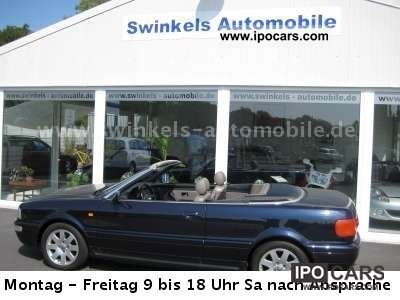 2000 Audi  Cabriolet 1.9 TDI 1.Hand Cabrio / roadster Used vehicle photo