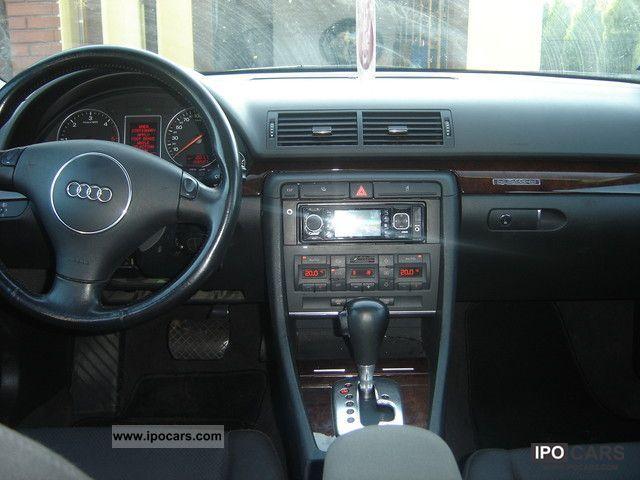 2003 Audi A4 Quattro 2 5 Tdi 179 Km Cofania Camera Tv