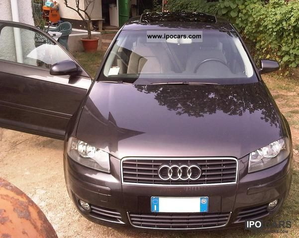 2004 Audi  A3 Tdi 16v 2000 AMBITION Sports car/Coupe Used vehicle photo