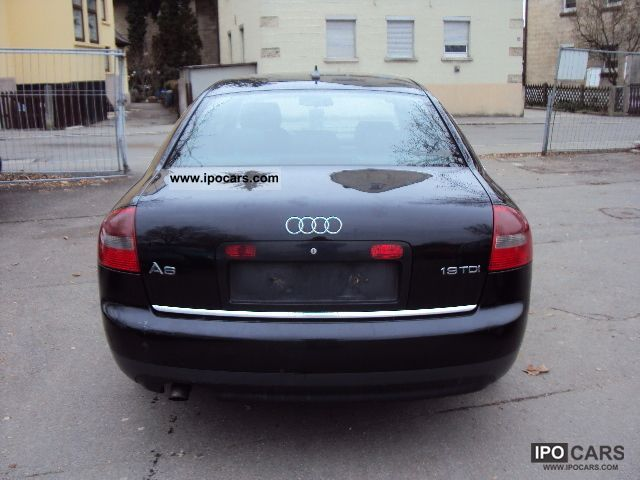 2002 audi a6 1 9 tdi car photo and specs. Black Bedroom Furniture Sets. Home Design Ideas