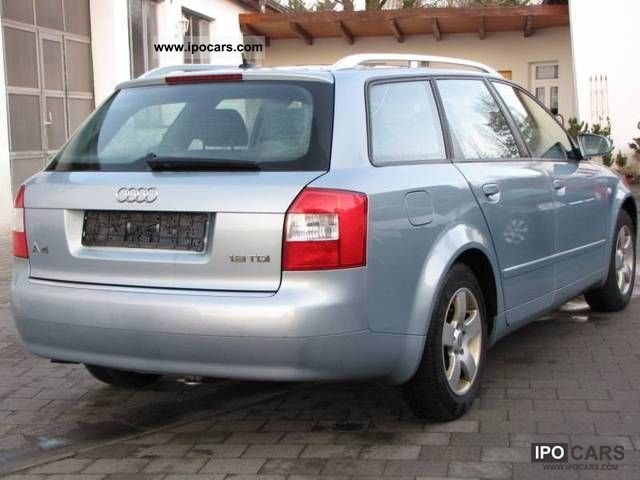2004 audi a4 avant 1 9 tdi car photo and specs. Black Bedroom Furniture Sets. Home Design Ideas