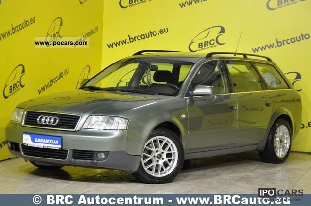 2002 Audi  A6 Avant TDI quattro car Matas Estate Car Used vehicle photo