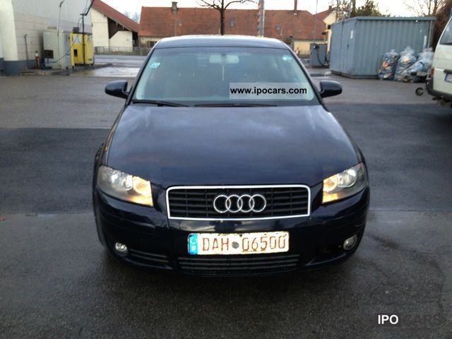 2003 audi a3 2 0 tdi attraction car photo and specs