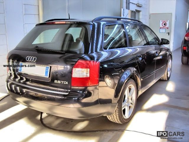 2002 audi a4 2 5 v6 tdi avant cat car photo and specs. Black Bedroom Furniture Sets. Home Design Ideas