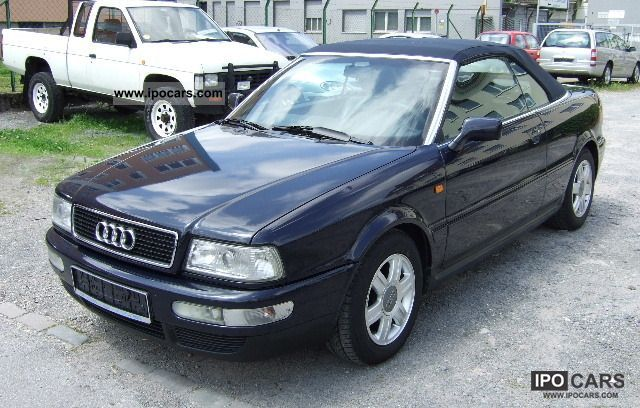 1998 Audi 80 Cabriolet 1 8 Part Leather Heated Car