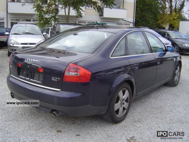 02 Audi A6 2 7 T Specs - save our oceans