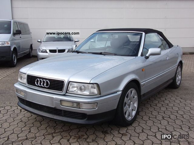 1997 audi 80 b4 cabrio automatic car photo and specs. Black Bedroom Furniture Sets. Home Design Ideas