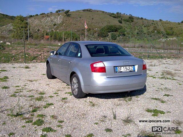 2001 audi a4 1 9 berlina car photo and specs for Lunghezza audi a4 berlina