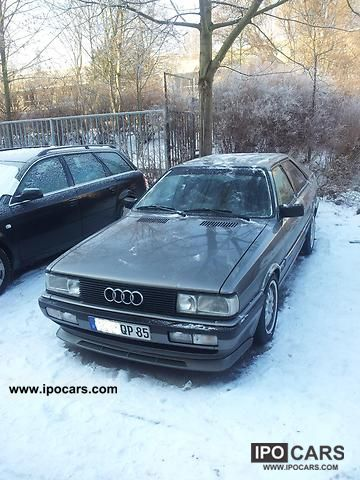1986 Audi  Coupe quattro Sports car/Coupe Used vehicle photo