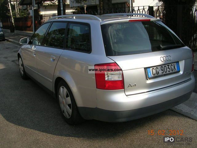 2003 Audi  A4 2.5 V6 QUATTRO AVANT TDI/180CV TRIP TRONIC Estate Car Used vehicle photo