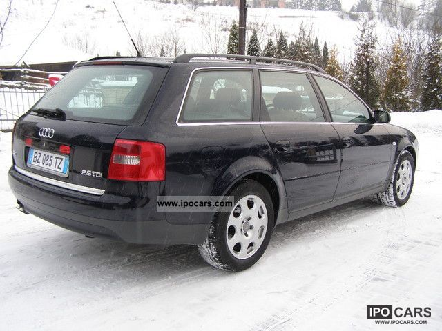 2002 Audi A6 2 5 Tdi Climatronic Car Photo And Specs
