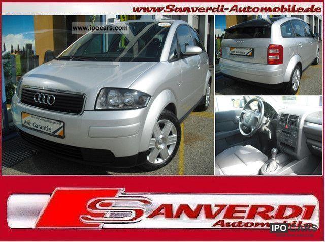 2005 Audi  A2 1.4 ADVANCE ** ** SPORT SEATS KLIMATRONC = ALU = EURO4 Small Car Used vehicle photo
