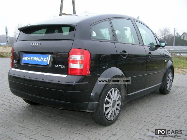 2002 audi a2 1 4 tdi klimatr zobacz car photo and specs. Black Bedroom Furniture Sets. Home Design Ideas