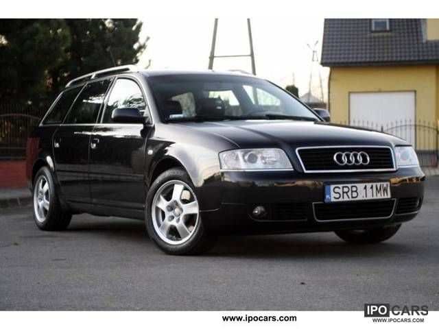 2003 Audi  A6 ZAMIANA SKORA NAWI ALUSY FULL Estate Car Used vehicle photo
