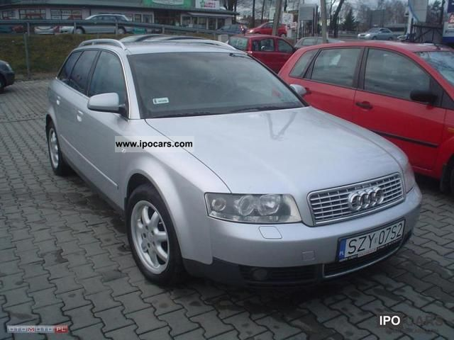2002 audi a4 diesel quattro krajowy car photo and specs. Black Bedroom Furniture Sets. Home Design Ideas
