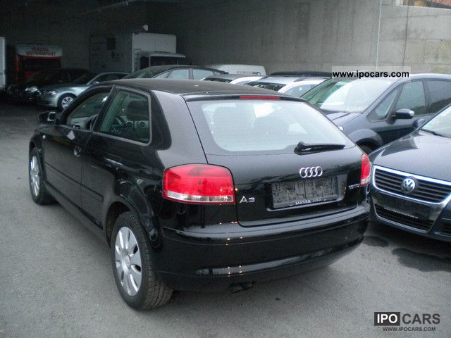 2004 audi a3 1 9 tdi attraction exp5250 car photo and specs. Black Bedroom Furniture Sets. Home Design Ideas