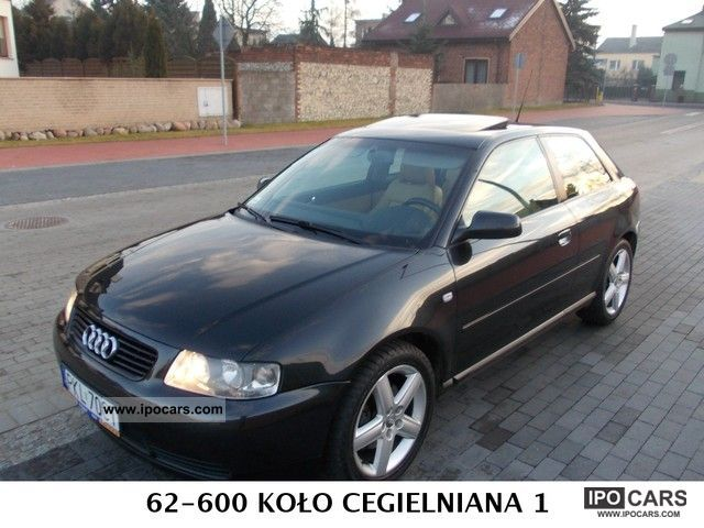 2002 Audi  A3 130 HP Bose Sports car/Coupe Used vehicle photo