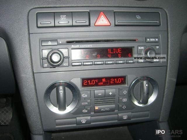 2004 Audi A3 1 9 Tdi New Mod Climate Control Radio