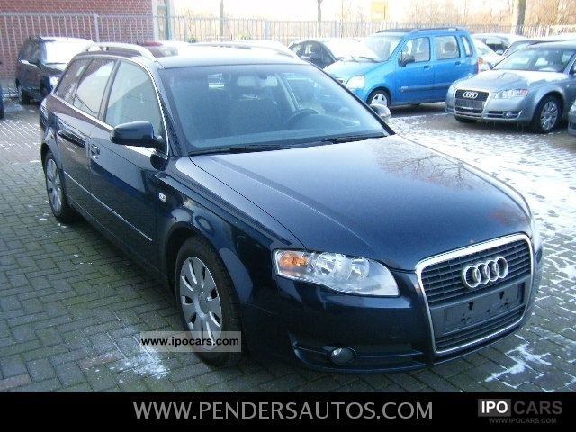 2005 audi a4 avant 2 0 tdi alu navi air fixed. Black Bedroom Furniture Sets. Home Design Ideas