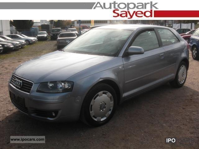 2005 Audi  A3 2.0 TDI * AIR * EFH * RCD * AHK * Limousine Used vehicle photo